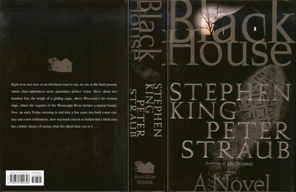 """""""Black House"""" - obwoluta - obrazek"""