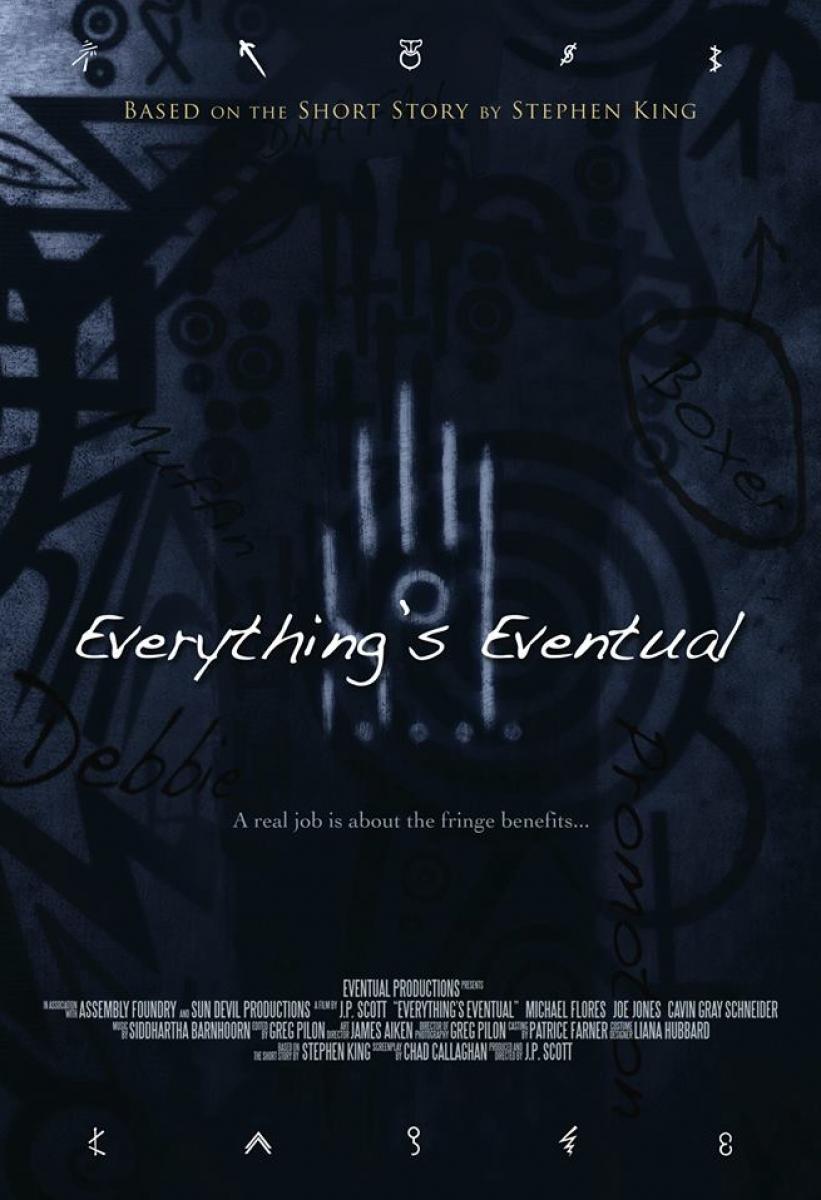 """Everything's Eventual"" - plakat - obrazek"