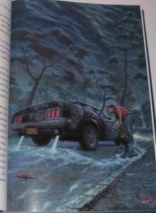 """Riding The Bullet"" - ilustracja Alana M. Clarka - obrazek"