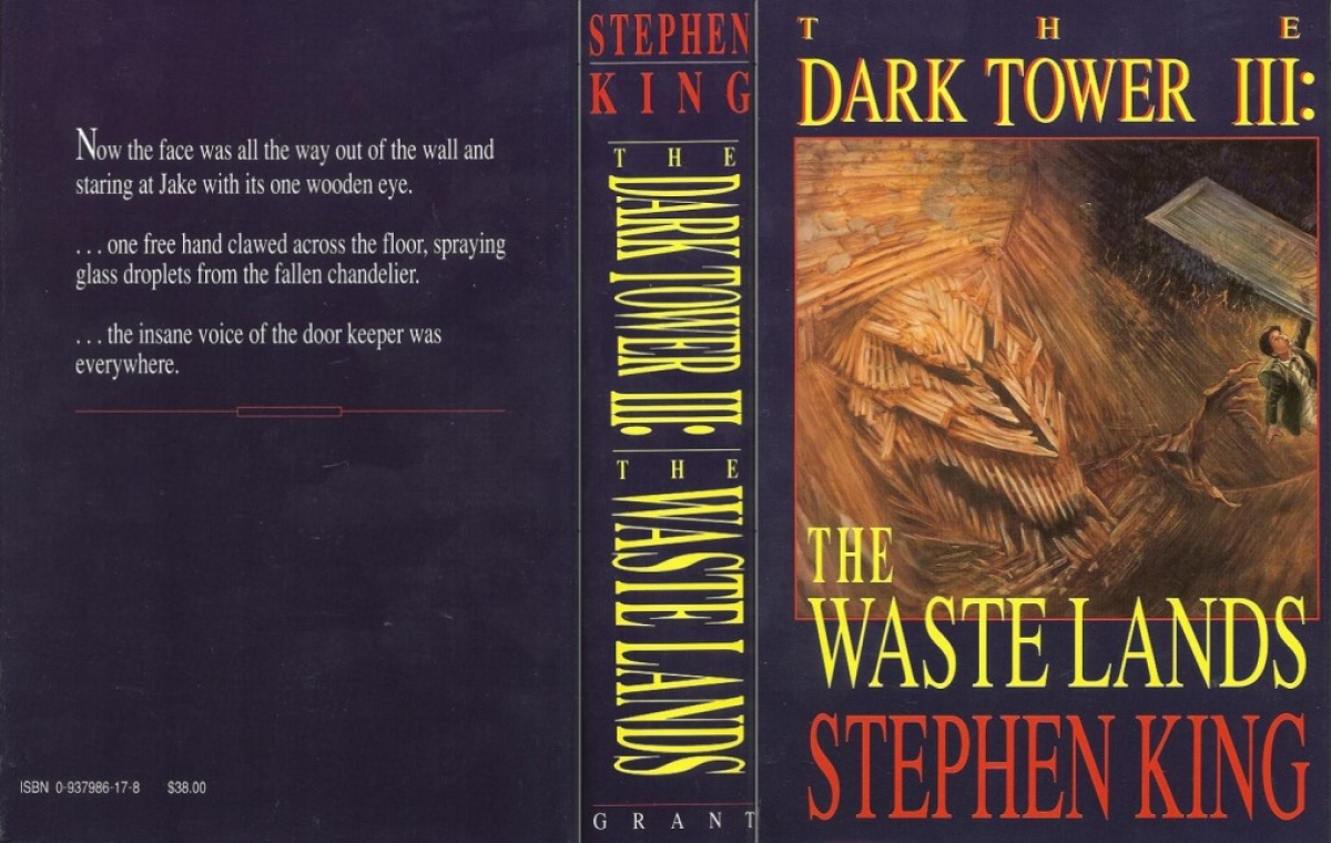 """The Dark Tower III: The Waste Lands"" - obwoluta - obrazek"