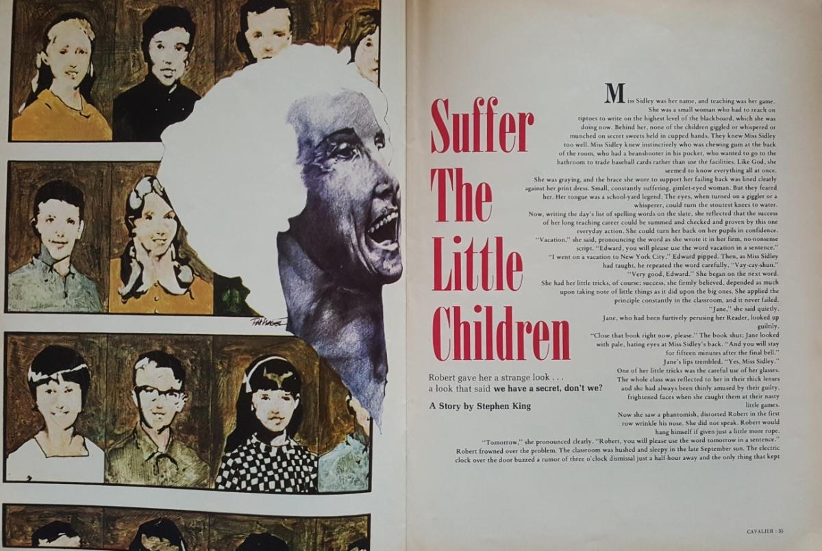 """""""Cavalier"""" 2/1972 - """"Suffer the Little Children"""" - obrazek"""