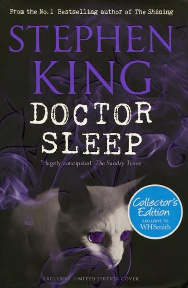 """Doctor Sleep"" - okładka wariantu WHSmith - obrazek"