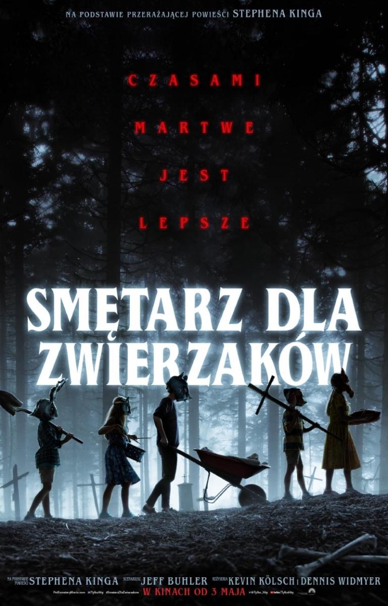 """""""Smętarz dla zwierzaków"""" - polski plakat filmu - obrazek"""