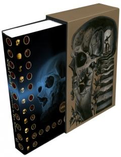 Nocna Zmiana - PS Publishing - wizualizacja wariantu pierwszego Blue Skull - obrazek