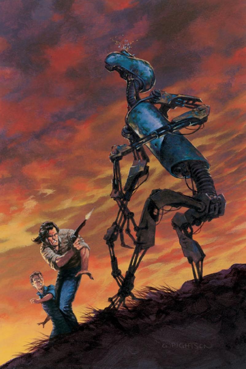 """The Dark Tower V: Wolves of Calla"" - ilustracja Bernie Wrightsona - obrazek"