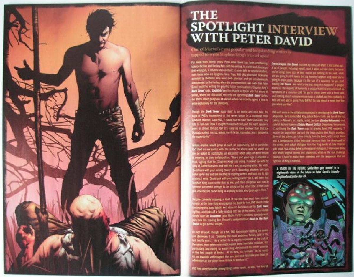"""""""The Dark Tower: Marvel Spotlight"""" - przykładowa strona - obrazek"""