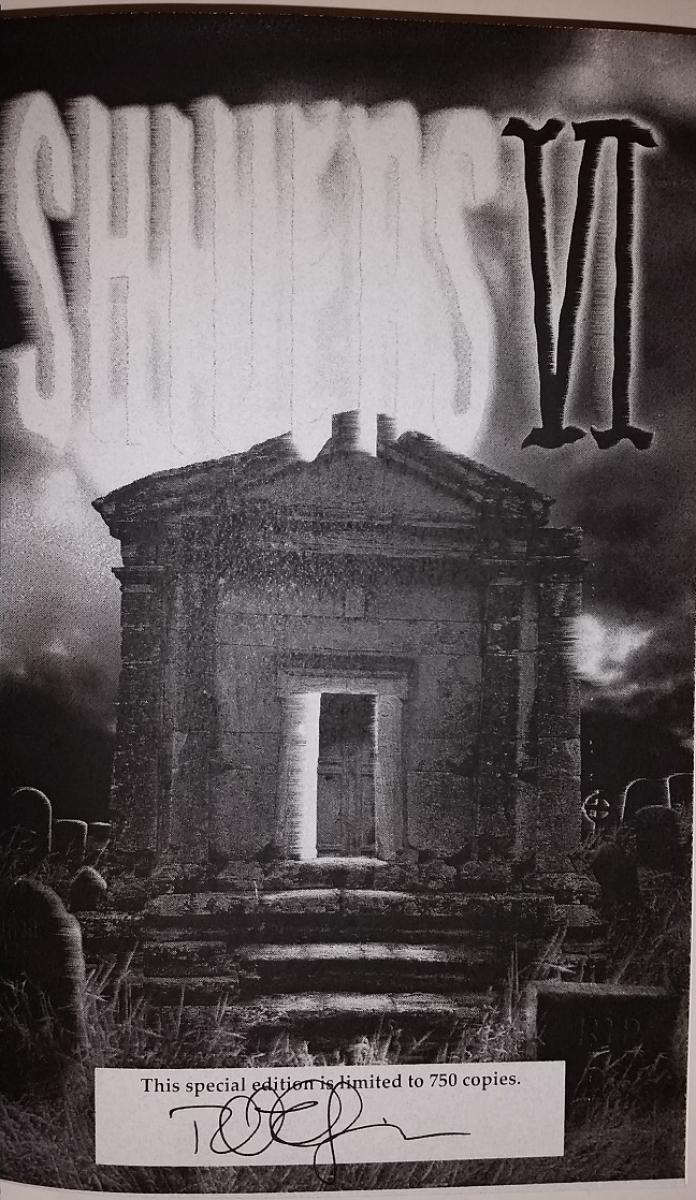 """Shivers VI"" - autograf Richard Chizmar - obrazek"