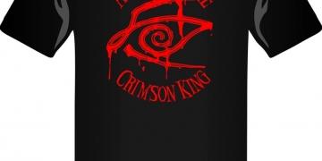 Koszulka All Hail the Crimson King - obrazek