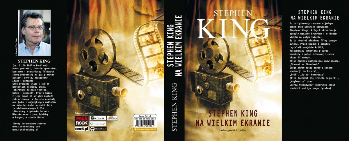 """""""Stephen King na wielkim ekranie"""" - cała okładka - obrazek"""