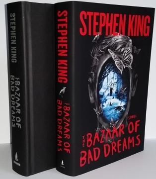 The Bazaar of Bad Dreams (Scribner) - książka i obwoluta