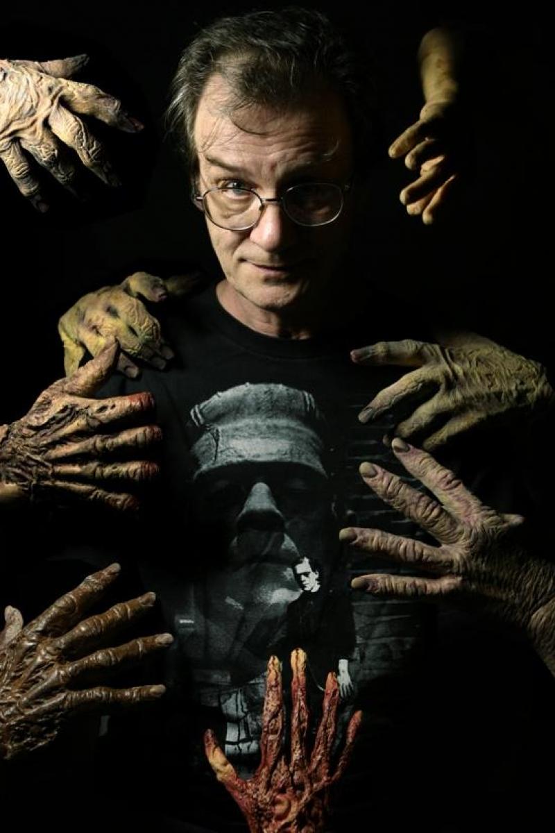 Bernie Wrightson (zdjęcie Tim Bradstreet) - obrazek