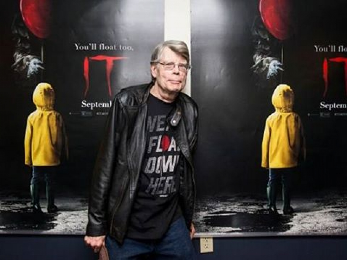"Stephen King na seansie ""To"" - obrazek"