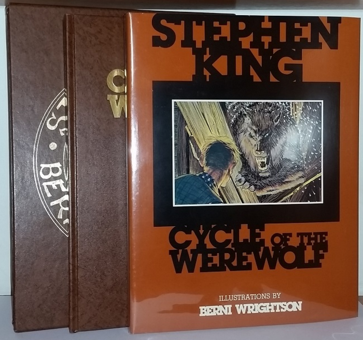 """Cycle of the Werewolf"" - etui, książka i obwoluta - obrazek"
