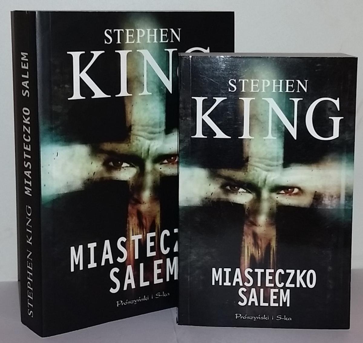 """""""Miasteczko Salem"""" - książka w wydaniu standardowym i kieszonkowym - obrazek"""