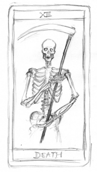 death card rough - obrazek