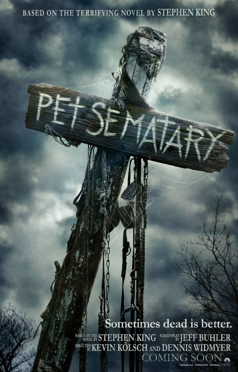 """""""Pet Sematary"""" - plakat międzynarodowy - obrazek"""