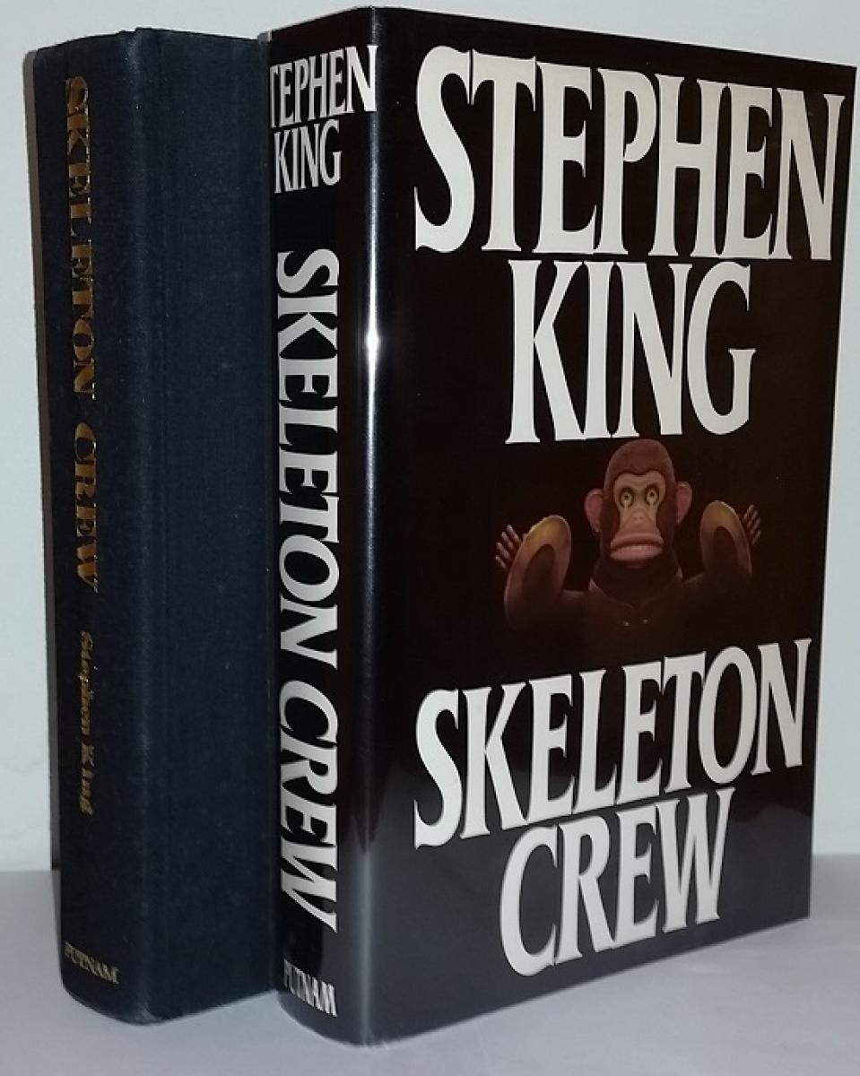 """""""Skeleton Crew"""" - książka i obwoluta - obrazek"""
