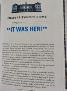 """""""The Shining"""" - strona tytułowa rozdziału książki - obrazek"""