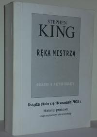 Ręka mistrza - Prebook (Prószyński i S-ka)