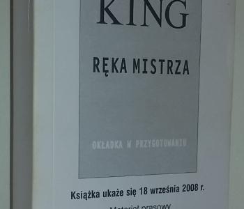Ręka mistrza - Prebook (Prószyński i S-ka) - obrazek