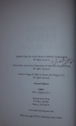 Stephen King Goes to the Movies (Subterranean Press) HLE - autograf Vincent Chong