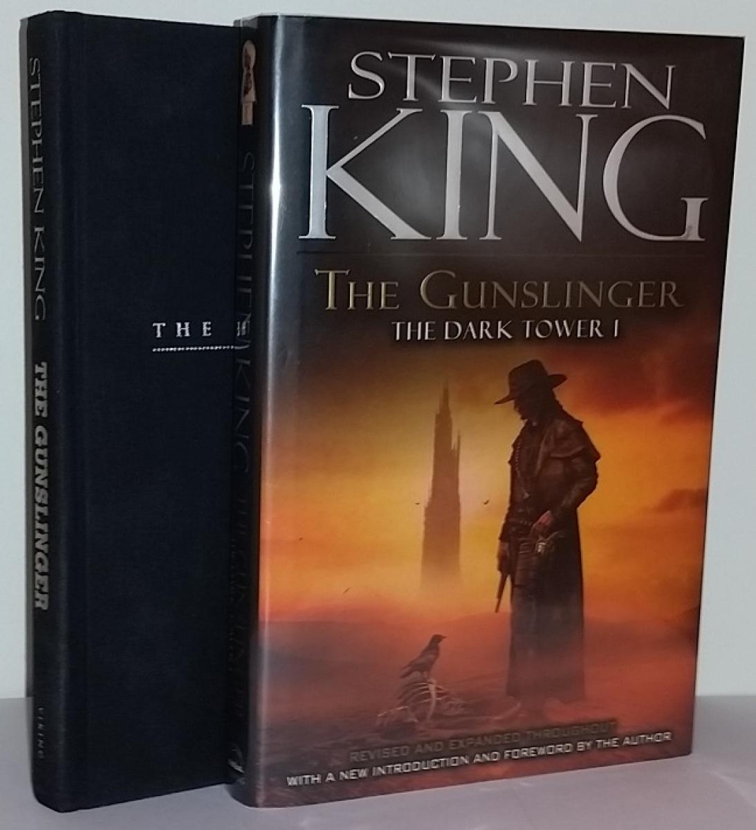 """The Dark Tower I: The Gunslinger"" wersja z 2003 roku - książka i obwoluta - obrazek"
