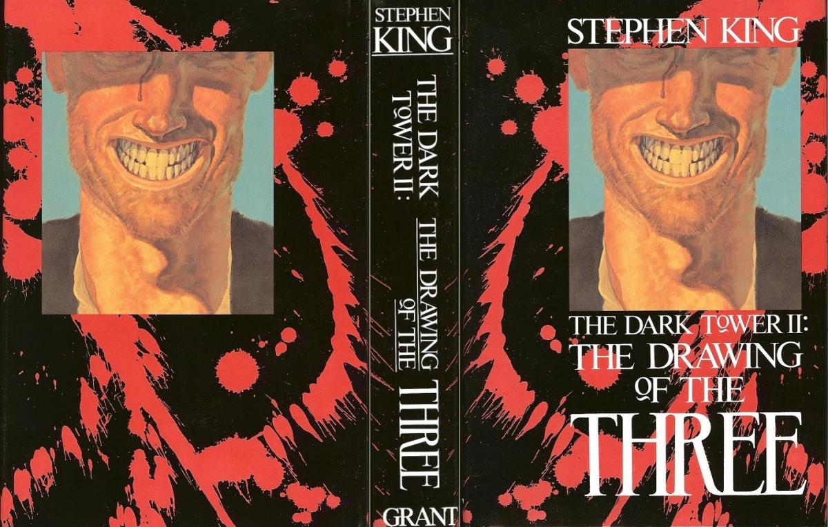 """""""The Dark Tower II: The Drawing of the Three"""" - okładka - obrazek"""