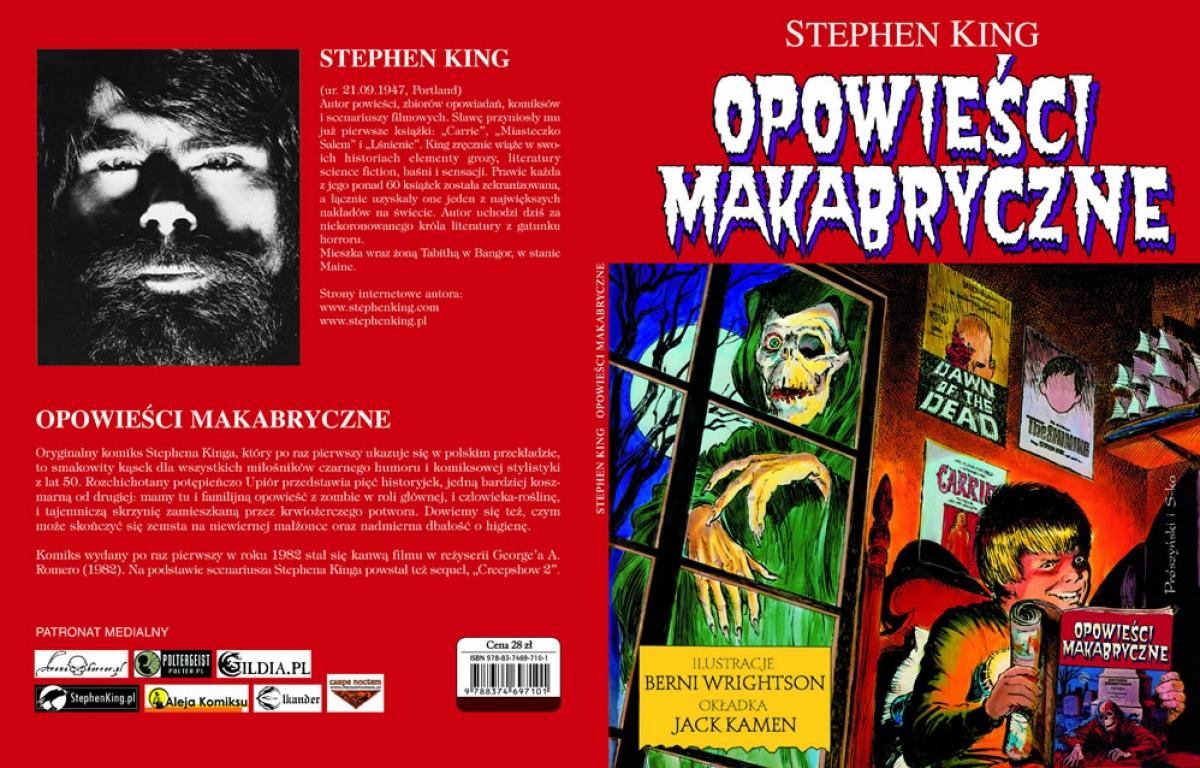 Opowieści makabryczne - Prószyński 2008 FullCover - obrazek