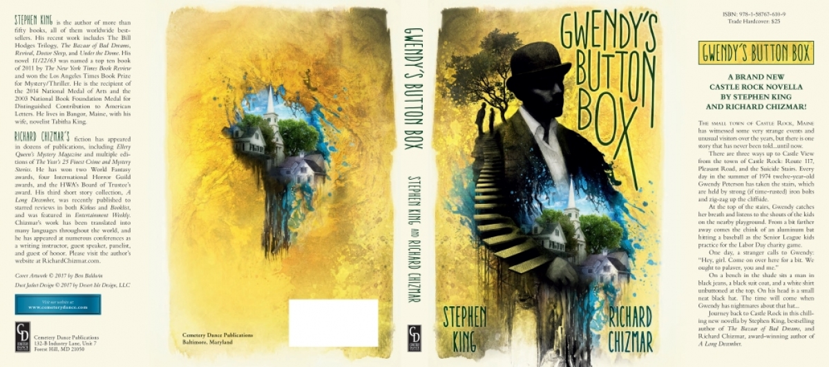 """Gwendy's Button Box"" - obwoluta książki - obrazek"