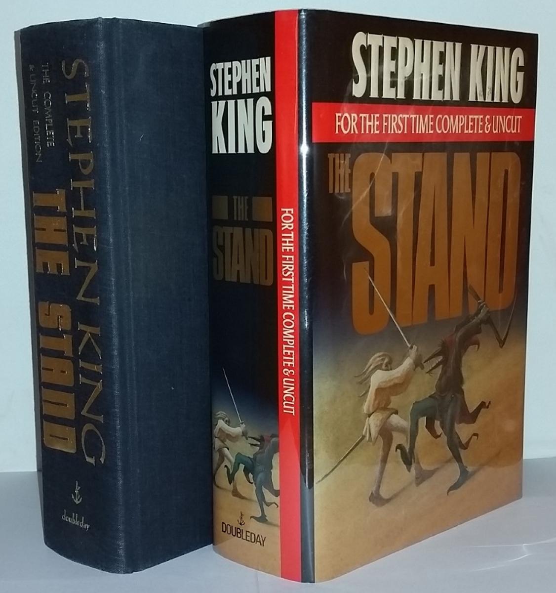 """The Stand Complete and Uncut"" - książka i obwoluta - obrazek"