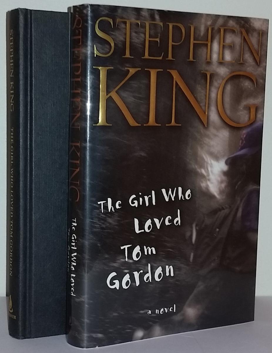 """""""The Girl Who Loved Tom Gordon"""" - książka i obwoluta - obrazek"""
