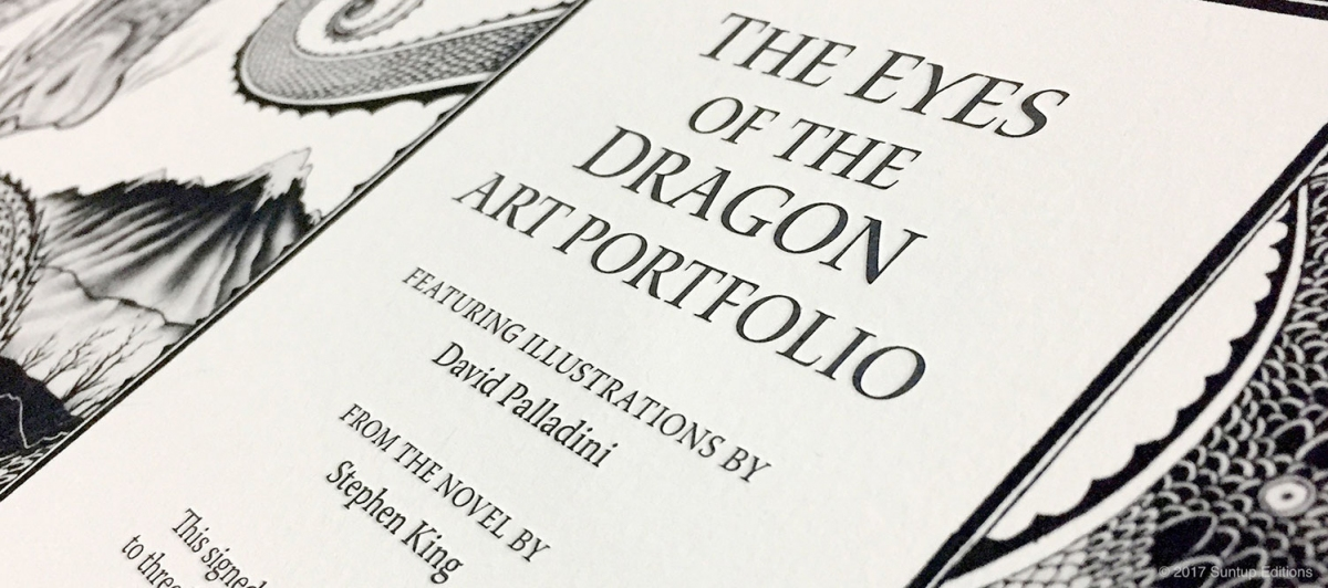 """The Eyes of the Dragon"" - limitowane portfolio Davida Palladini - obrazek"