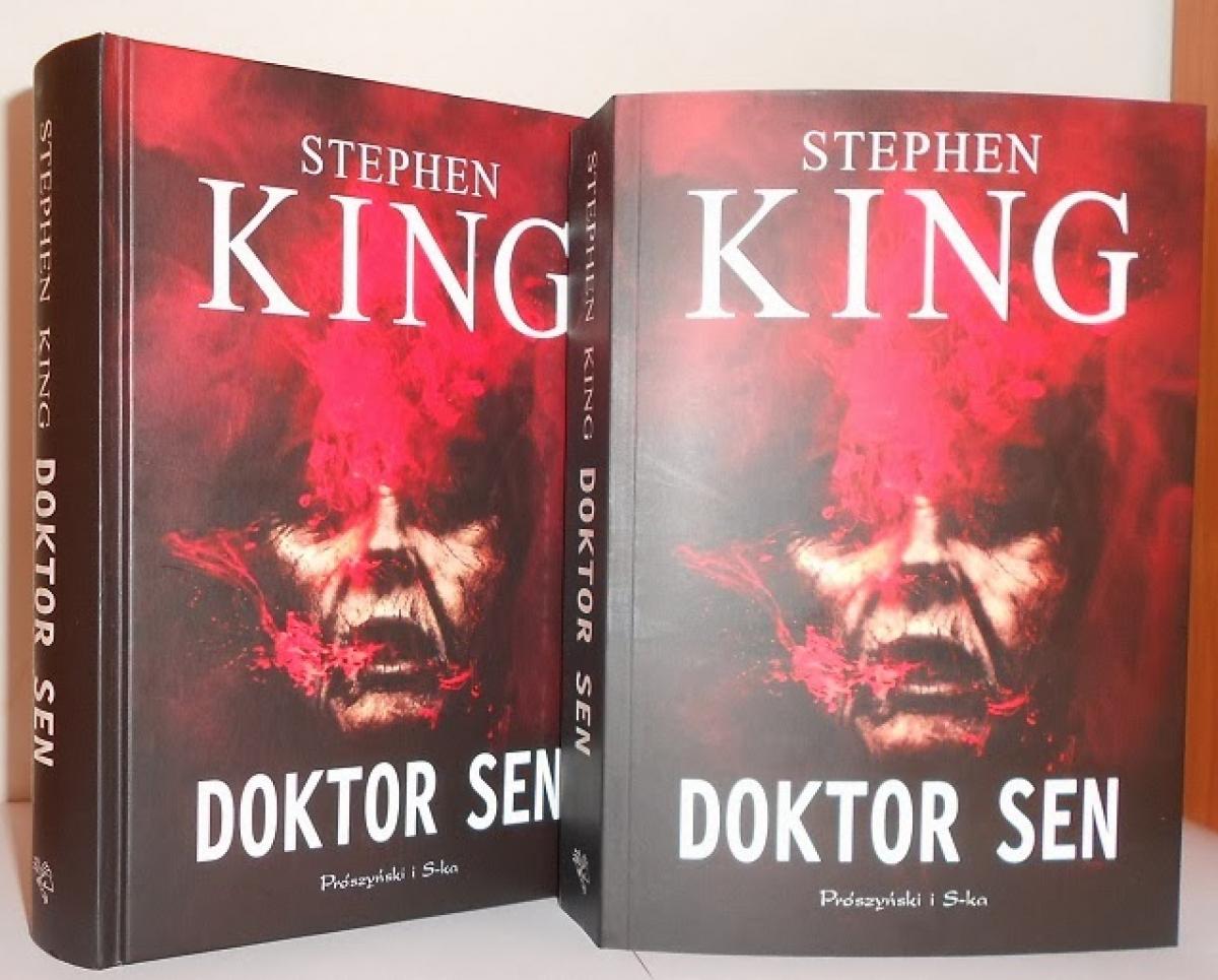 """""""Doktor Sen"""" - wydanie w twardej oprawie (po lewej) oraz pierwsze w miękkiej (po prawej) - obrazek"""