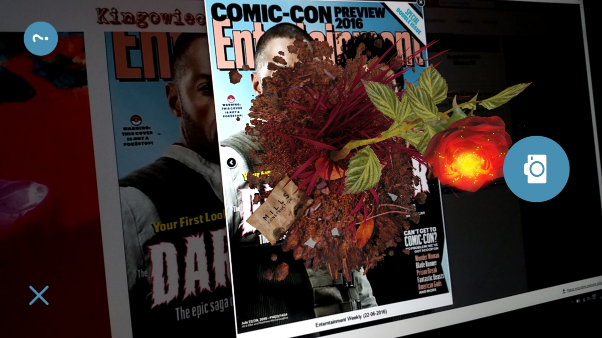 Sombra Group - okładka Entertainment Weekly - obrazek