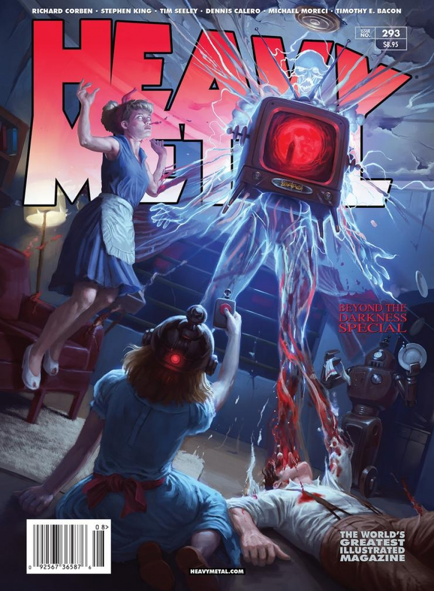 """Heavy Metal"" #293 - okładka wariant A - obrazek"