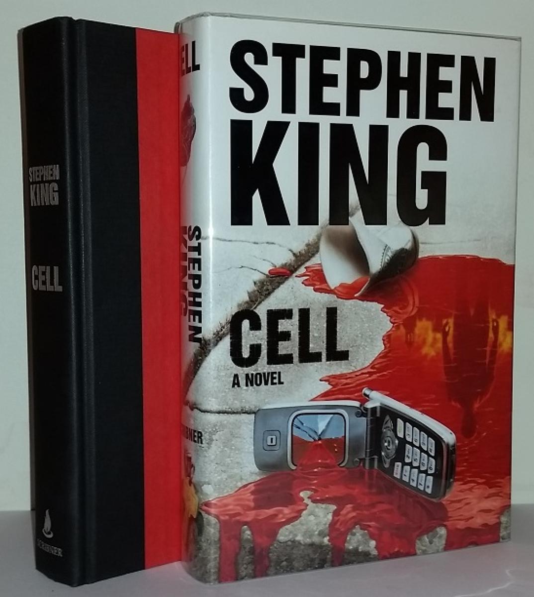 """""""Cell"""" - książka i obwoluta - obrazek"""