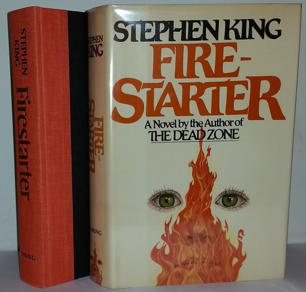 """""""Firestarter"""" - książka i obwoluta - obrazek"""