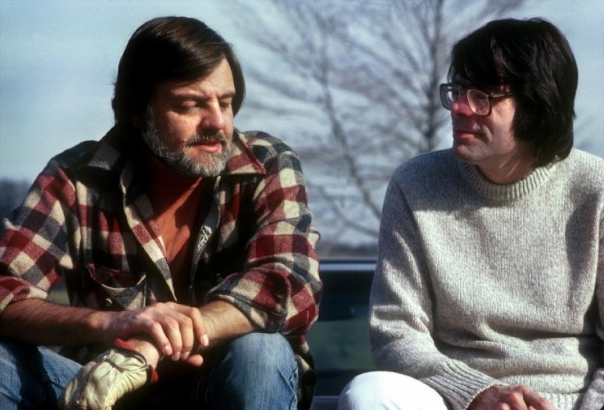 "George A. Romero i Stephen King na planie ""Creepshow"" - obrazek"