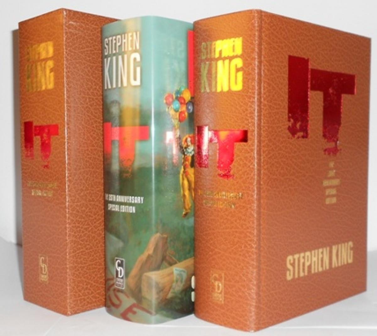 IT 25th Anniversary Edition (Cemetery Dance) Gift Edition - książka, etui i obwoluta - obrazek