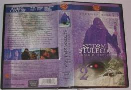 Sztorm Stulecia (VHS) - okładka 2