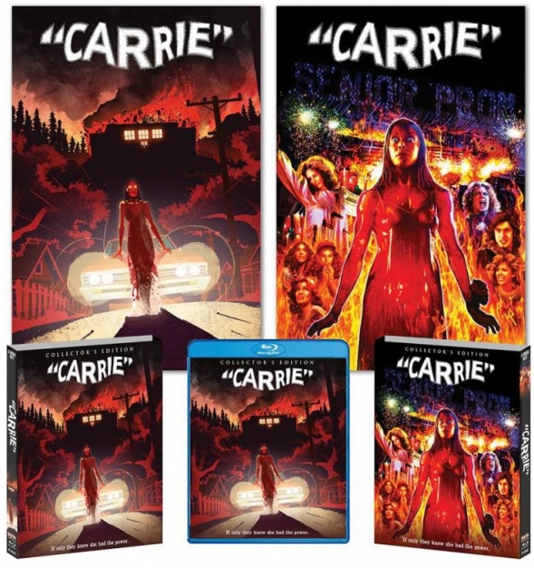 Carrie 40th Anniversary Edition Deluxe (Blu Ray)