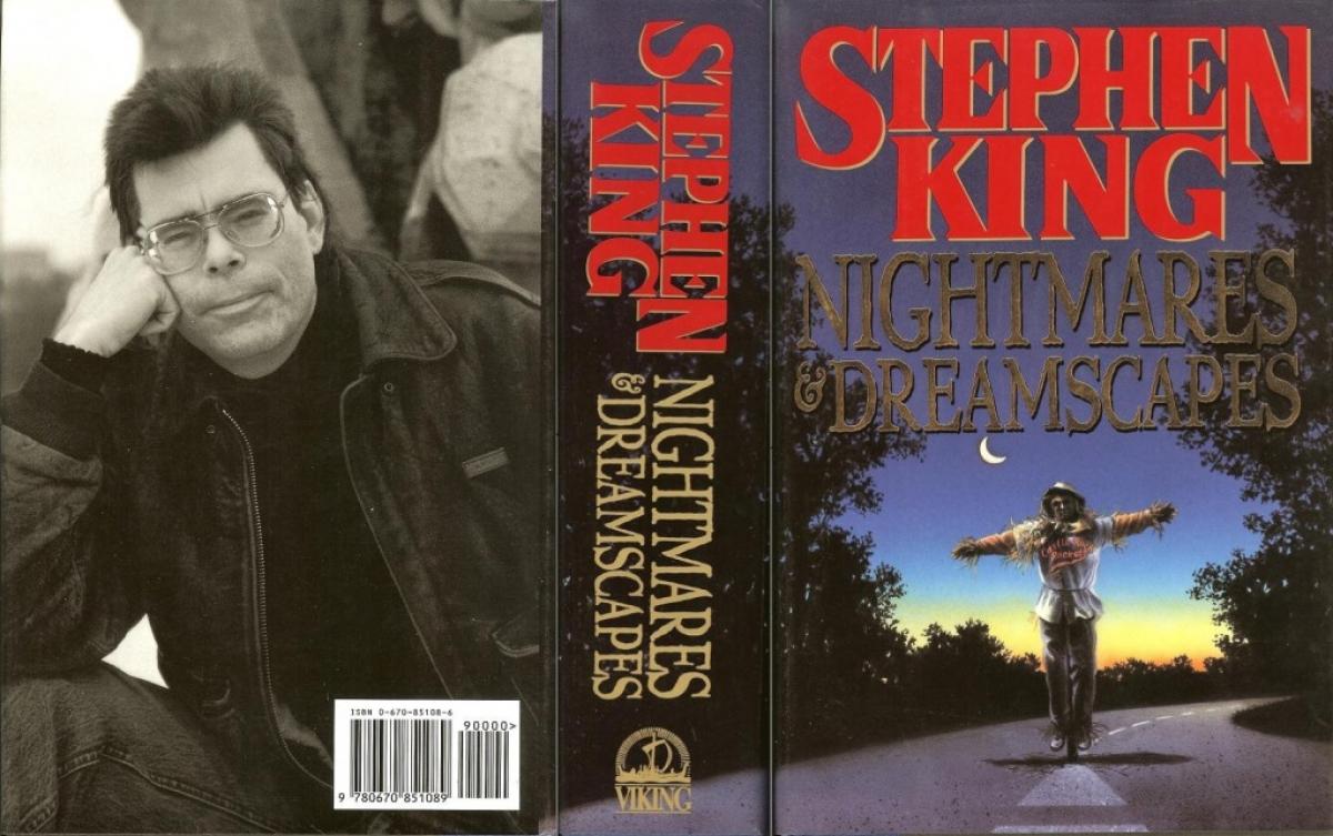 """Nightmares & Dreamscapes"" - obwoluta - obrazek"